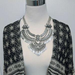 Jewelry - Chunky Ethnic Bohemian Statement Necklace Set